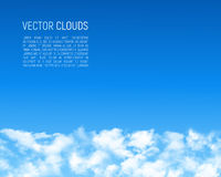 Abstract background with clouds Royalty Free Stock Photography