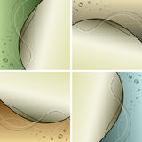 Abstract background collection Stock Image