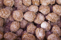 Abstract Background Collection:  Local Chinese Rice Bran Eggs Royalty Free Stock Photo