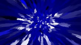 Abstract background with color blots, transitions and bends. Aesthetic colored background royalty free illustration