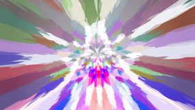 Abstract background with color blots, transitions and bends. Aesthetic multicolored background royalty free illustration