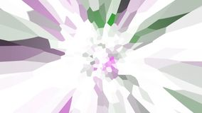 Abstract background with color blots, transitions and bends. Aesthetic colored background vector illustration