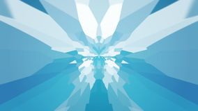 Abstract background with color blots, transitions and bends. Blue colors. White color stock illustration