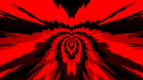 Abstract background with color blots, transitions and bends. Red colors. Black colors stock illustration