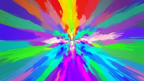 Abstract background with color blots, transitions and bends. Red colors. Blue colors stock illustration