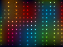 Abstract background with color bright lights - vector. Eps 10 Stock Photos