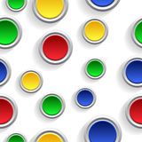 Abstract background. Abstract color background - the buttons stock illustration