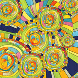 Abstract background color of the circles. And slips Stock Images