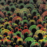 Abstract background - color circles Royalty Free Stock Photography