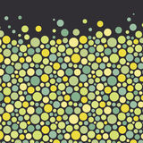 Abstract background with color circles. Vector Stock Image