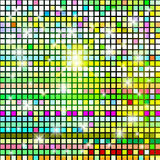 Abstract background from color cubes. Royalty Free Stock Photo