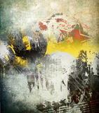 Abstract background. Abstract color background, grunge illustration royalty free illustration