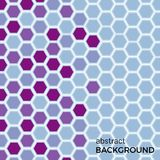 Abstract background with color hexagons elements. Vector illustration stock illustration