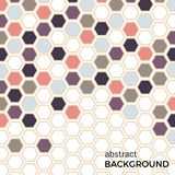 Abstract background with color hexagons elements. Vector illustration vector illustration