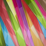 Abstract background color inclined lines. Vector illustration. Royalty Free Stock Image