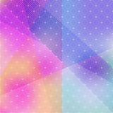 Abstract background of color patches with geometric texture. Royalty Free Stock Images