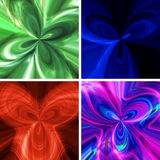 Abstract background with a Color pattern. Close up vector illustration