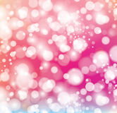 Abstract background with color sparkles. Shiny defocused bokeh lights on colored background. Vector illustration Royalty Free Stock Image