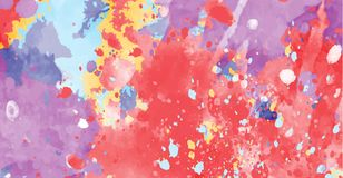 Abstract background of color stains of paints Royalty Free Stock Image