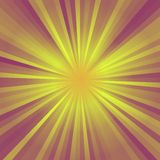 Abstract background of color star burst rays Royalty Free Stock Photography