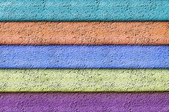 Abstract background from color str. Abstract background from five horizontal color strips Stock Photo