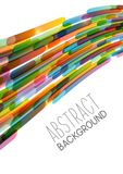 Abstract background with stripes. Abstract background with color stripes Stock Images