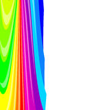 Abstract background color stripes. Vector illustration Stock Photography