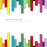 Abstract background with color stripes Stock Photo