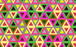 Abstract background. With color triangles stock illustration