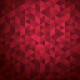 Abstract background of color triangles Stock Image