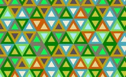 Abstract background with color triangles Royalty Free Stock Image