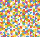 Abstract background of color triangles Royalty Free Stock Images