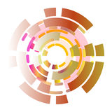 Abstract background color wheel Royalty Free Stock Image