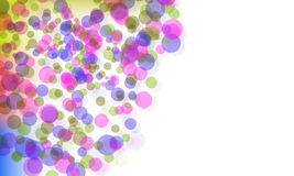 Abstract background. With colored ball Royalty Free Stock Image