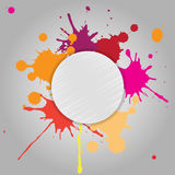 Abstract background of colored blots. Vector Stock Photos