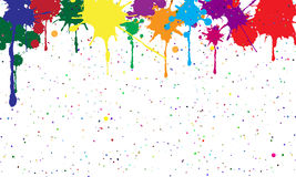 Abstract background of colored blots. Vector Stock Image