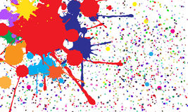 Abstract background of colored blots. Vector Royalty Free Stock Photos