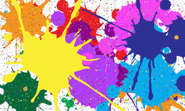 Abstract background of colored blots. Vector Stock Photo