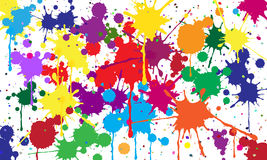 Abstract background of colored blots.Vector. Art Royalty Free Stock Photos