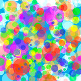 Abstract background colored bokeh circles Royalty Free Stock Photography