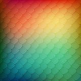 Abstract background of colored cells Royalty Free Stock Image