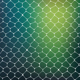 Abstract background of colored cells Stock Image