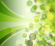Abstract background with colored circles. Abstract background with circles and movement of funds intended for presentations or web funds Royalty Free Stock Photo