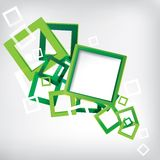 Abstract Background with colored elements. This is file of EPS10 format Royalty Free Stock Photos