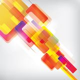 Abstract Background with colored elements. This is file of EPS10 format Stock Image