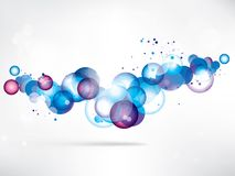 Abstract background with colored elements. This is file of EPS10 format Stock Photo