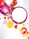 Abstract background with colored elements Stock Images