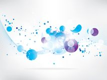 Abstract background with colored elements. This is file of EPS10 format stock illustration