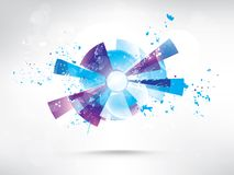 Abstract background with colored elements. This is file of EPS10 format Stock Photography