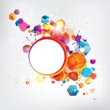 Abstract background with colored elements. This is file of EPS10 format Royalty Free Stock Photo